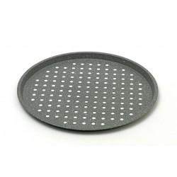 Ταψί πίτσας τρυπητό με επίστρωση πέτρας Νο 33