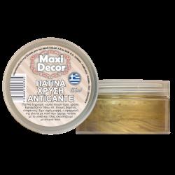Πατίνα χρυσή anticante 100ml MAXI DECOR 430000442