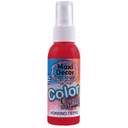 Color spray (Σπρέι) Maxi Decor 50ml Κόκκινο περλέ 430000230