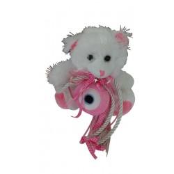 Γούρι παιδικό για κορίτσι  με αρκουδάκι  Γ-1112