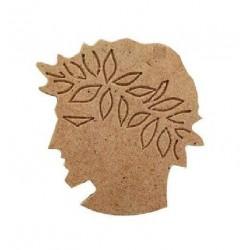 Κεφάλι Ολυμπιακού MDF 5,5Χ6 εκ 3-04-0506-0073