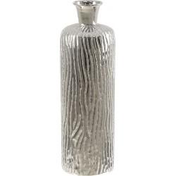 Βάζο αλουμινίου επινικελωμένο ασημί INART 3-70-388-0273