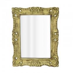 Καθρέπτης τοίχου ξύλινος αντικέ  55Χ3Χ45 Inart 3-95-090-0036