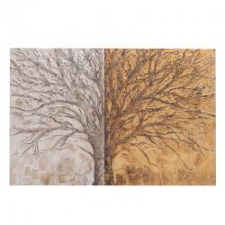 """Πίνακας καμβάς """"δέντρο"""" 150x100 Inart 3-90-006-0195"""