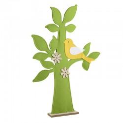 Διακοσμητικό δέντρο ξύλο/τσόχα  71εκ   Inart 1-70-686-0007