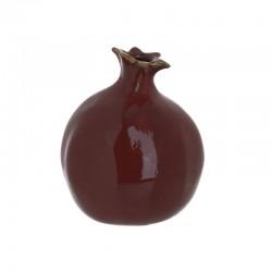 Ρόδι κεραμικό κόκκινο Inart 3-70-418-0005