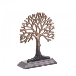 Δέντρο διακοσμητικό αλουμινίου μπρονζέ Inart 3-70-579-0056
