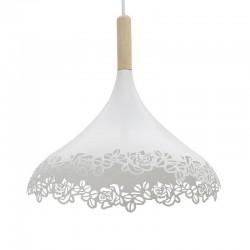 Φωτιστικό Οροφής μεταλλικό διάτρητο λευκό  Inart 3-10-774-0034