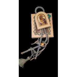 Γούρι παιδικό για αγόρι σε κουτί με ασημένια εικόνα 40εκ Γ-1128
