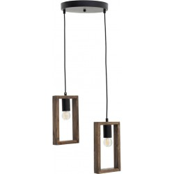 Φωτιστικό Οροφής  2φωτο 30x30x70cm Inart  6-10-584-0029