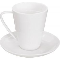 """Φλυτζάνι και πιατάκι καφέ πορσελάνης \""""EDGE\"""" S&P 09150"""