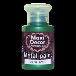 Μεταλλικό ακρυλικό χρώμα MAXI DECOR 60 ml (ΕΛΑΤΟ) ME-126