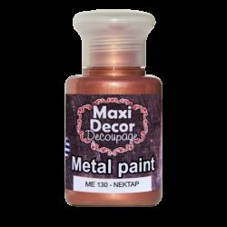 Μεταλλικό ακρυλικό χρώμα MAXI DECOR 60 ml (ΝΕΚΤΑΡ) ME-130