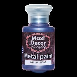 Μεταλλικό ακρυλικό χρώμα MAXI DECOR 60 ml (ΜΠΛΕ) ME-134