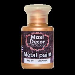 Μεταλλικό ακρυλικό χρώμα MAXI DECOR 60 ml (ΤΕΡΑΚΟΤΑ) ME-141