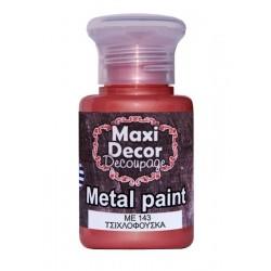 Μεταλλικό ακρυλικό χρώμα MAXI DECOR 60 ml (ΤΣΙΧΛΟΦΟΥΣΚΑ) ME-143