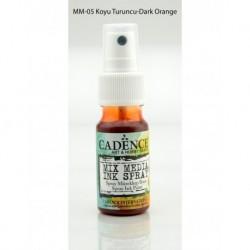 Mix media Spray ink CADENCE 25ml - Dark orange MM05