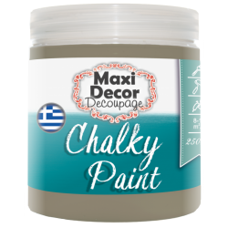Χρώμα Κιμωλίας (Chalk paint ) Maxi Decor (ΜΟΚΚΑ) 250ml  CHP-513