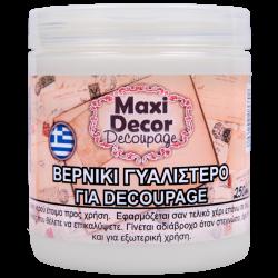 Βερνίκι γυαλιστερό για decoupage 250ml Maxi Decor