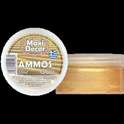 Πάστα απομίμησης άμμου χρυσή 100ml Maxi Decor 430000451g