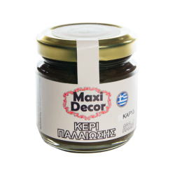 Κερί παλαίωσης καρυδί  100 ml Maxi Decor 430000848Κ