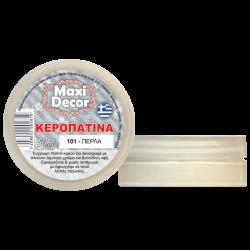Κεροπατίνα πέρλα  50 ml MAXI DECOR ME-101