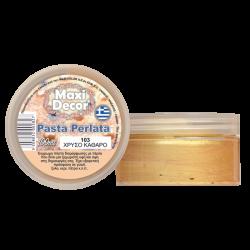 Pasta perlata 100ml (ΧΡΥΣΟ ΚΑΘΑΡΟ) MAXI DECOR PP-103