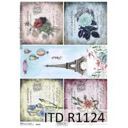 Ριζόχαρτο decoupage ITD 21X30 R1124