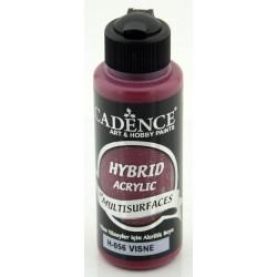 """Χρώμα υβριδικό ακρυλικό 120ml CADENCE """"CHERRY"""" H-056"""