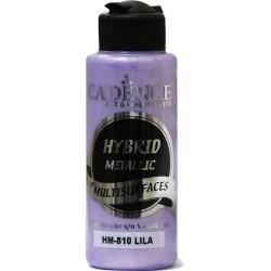 """Χρώμα υβριδικό μεταλλικό 120ml CADENCE """"LILA"""" HM-810"""