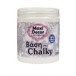 Βάση για Chalky άχρωμη 250ml MAXI DECOR 430000803