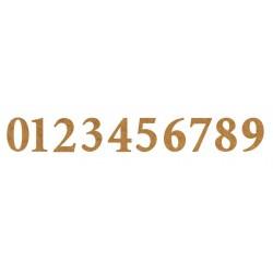 Αριθμός στα 3.5 εκ. από MDF 2-04-3535-NUM