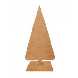 Δέντρο χριστουγεννιάτικο κωνικό MDF 13 x 26 εκ 3-08-1326-0053
