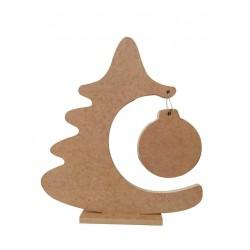 Δέντρο χριστουγεννιάτικο με μπάλα MDF 20 x 23 εκ 3-08-2023-0054