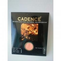 Φύλλο χρυσώματος ασημί  Cadence 25 φύλλα  0203