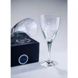 Σετ 2 κρυστάλλινα ποτήρια  κρασιού  Winetasting Rings SP Crystal 10016621