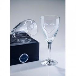 Σετ 2 κρυστάλλινα ποτήρια  κρασιού  Winetasting Love y SP Crystal 10016620