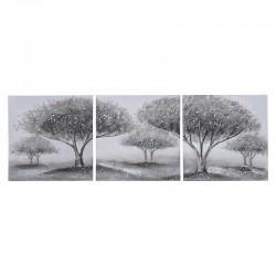 Πίνακας Σε Καμβά Σετ Των 3 Δέντρα 120X INART 3-90-519-0196