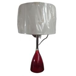 Λάμπα επιτραπέζια κόκκινη με καπέλο 43εκ  VIOKEF 4766