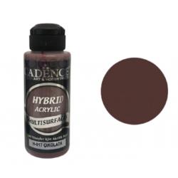 """Χρώμα υβριδικό ακρυλικό 120ml CADENCE """"CHOCOLATE"""" H-017"""