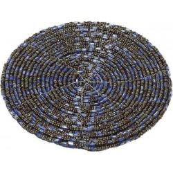 Σουβερ χάντρες σετ/6 τεμ μπλε Φ10 εκ  ESPIEL YRA217