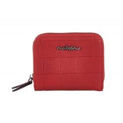 Πορτοφόλι μικρό κόκκινο δέρμα PU Modissimo 22651/2
