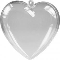 Καρδιά ανοιγόμενη plexiglass 10εκ JK HOME DECORATION 55808