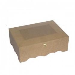 Kουτί MDF για decoupage  28X20X9 KU-260