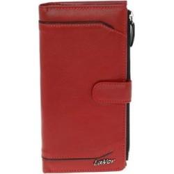 Πορτοφόλι δερμάτινο κόκκινο LAVOR -5582
