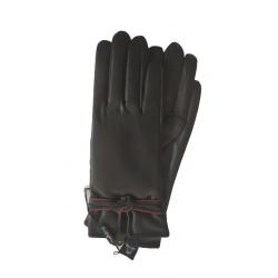 Γάντια συνθετικό δέρμα μαύρο MODISSIMO 22335-MEDIUM
