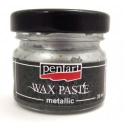 Πατίνα Wax paste Metallic 20ml Pentart – silver - 15155