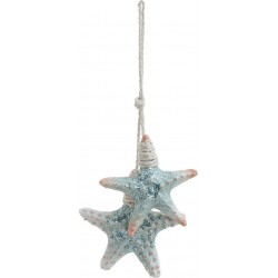 Αστερίας κρεμαστός polyresin 12x2x29 INART 4-70-049-0016