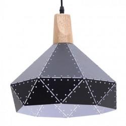 Φωτιστικό Οροφής μεταλλικό μαύρο 30χ30/120 Inart 6-10-151-0001