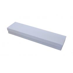 Κουτί λαμπάδας χάρτινο λευκό 42,5εκ Χ 9 Χ 5 εκ  0506161